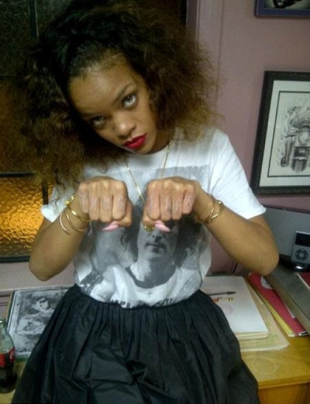 Rihanna's Thug Life Tattoo