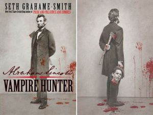 Lincoln Vampire Hunter book jacket
