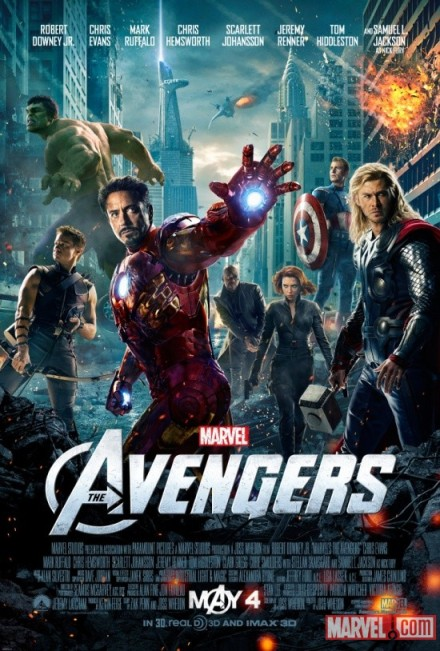 Marvel The Avengers Poster