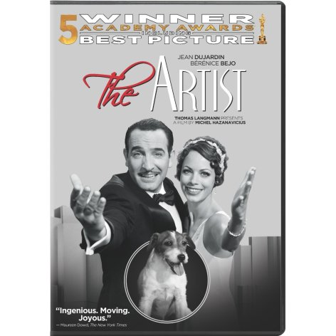 the artist on dvd and blu-ray
