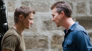 Jeremy Renner and Edward Norton