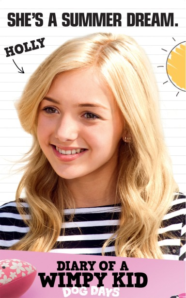 Peyton List in Diary of a Wimpy Kid: Dog Days
