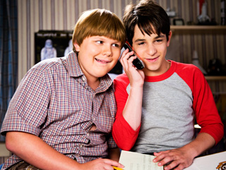 Rowley and Greg in Dog Days