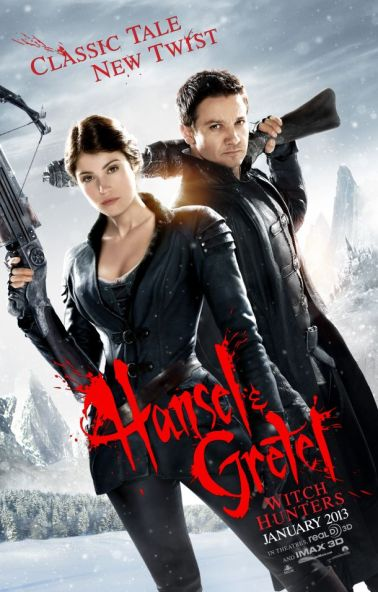 Jeremy Renner and Gemma Arterton in Hansel & Gretel: Witch Hunters