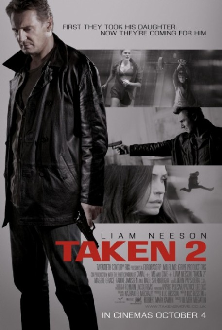 Liam Neeson in Taken 2 Poster