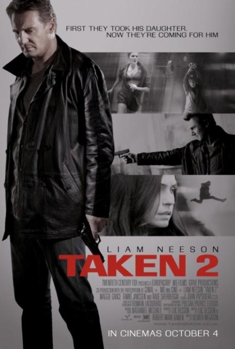 Liam Neeson in Taken 2 Poster