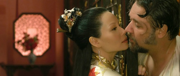 Lucy Liu Russell Crowe The Man with the Iron Fists