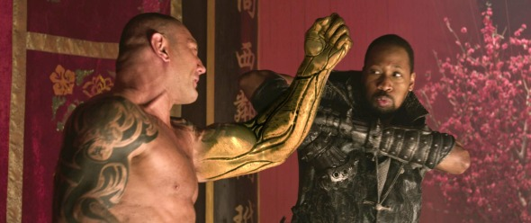 David Bautista in The Man with the Iron Fists