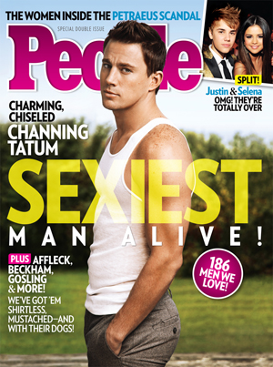 Channing Tatum is People's 2012 Sexiest Man Alive