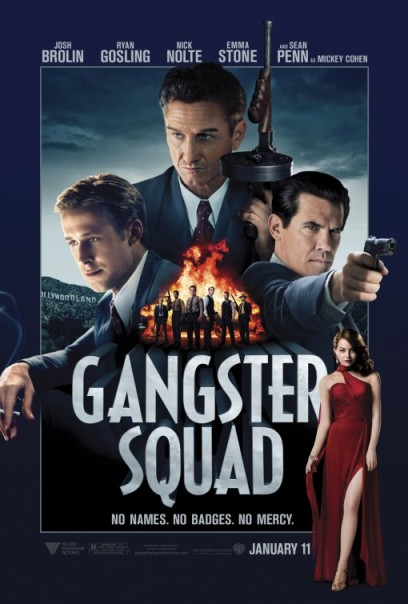 Gangster Squad 2013 poster