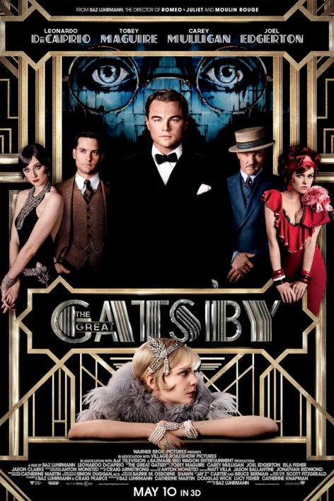 The Great Gatsby poster 2013